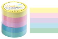 Masking tape - Couleurs pastels - Masking tape (Washi tape) - 10doigts.fr