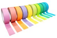 Masking tape couleurs assorties - 10 rouleaux - Rubans et adhésifs - 10doigts.fr
