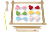 Métier à tisser en bois - Kits Mercerie - 10doigts.fr