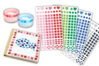 Stickers Mosaïques en plastique - Couleurs au choix - Mosaïques plastique - 10doigts.fr