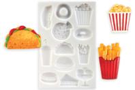 Moule en silicone nourriture - 12 motifs - Moules en silicone - 10doigts.fr