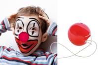 Nez de clown en plastique + élastiques - Mardi gras, carnaval - 10doigts.fr