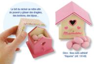 Nichoir boite à dragées, œufs de pâques, chocolats, bijoux… - Nichoirs - 10doigts.fr