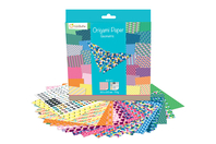 Papier Origami Géométriques - 60 feuilles - Origami - 10doigts.fr