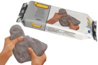 Pain de 500 gr de pâte à modeler effet béton - Papier mâché - 10doigts.fr