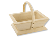 Panier vendanges en bois - Corbeilles et paniers - 10doigts.fr