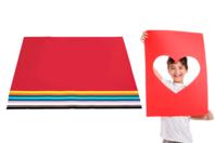 Papiers légers 50 x 70 cm - Packs multicolores - Papiers Grands Formats - 10doigts.fr