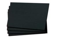 Pochette de 50 feuilles de papier noir - Papier divers - 10doigts.fr
