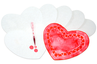 Cœurs en papier diffuseur - Lot de 50 - Nouveautés - 10doigts.fr