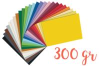 Papier épais 300 gr - Packs multicolores - Papiers épais - 10doigts.fr