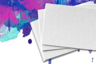 Papier épais blanc - 200g/m² à 300 g/m² - Papiers pour peinture - 10doigts.fr