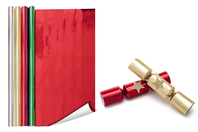 Papier métallisé, verso blanc (2 mètres) - Couleurs au choix - Papier effet métallisé, pailleté, nacré - 10doigts.fr