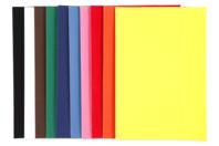 Papier velours - 10 feuilles A4 - Papier Velours - 10doigts.fr