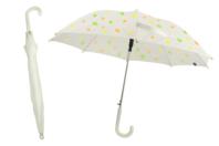 Parapluie blanc à décorer - taille enfant - Opaque - 10doigts.fr