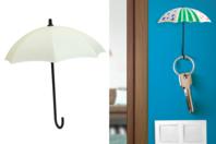 Parapluies porte-clés à décorer - Lot de 3 - Plastique Opaque - 10doigts.fr
