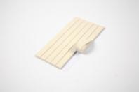 Pâte adhésive blanche - Planche de 100gr - Colles diverses - 10doigts.fr