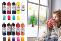 Peinture pour vitres et fenêtres - 500 ml - Peinture Verre et Faïence - 10doigts.fr