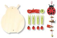 Pense-bête Coccinelle - Kits Supports et décorations - 10doigts.fr