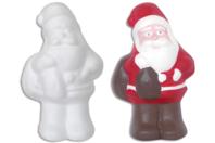 Père Noël en polystyrène 21 cm - Sujets en polystyrène - 10doigts.fr