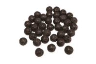 Perles de lave rondes 8 mm - Lot de 30 - Perles Lithothérapie - 10doigts.fr