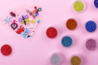 Perles de rocaille - Couleurs opaques au choix - Perles de rocaille - 10doigts.fr