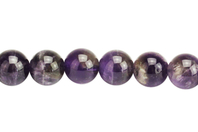Perles Améthyste - 48 perles - Perles Lithothérapie - 10doigts.fr
