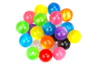 "Perles rondes ""Shine"" - 25 perles - Perles acrylique - 10doigts.fr"