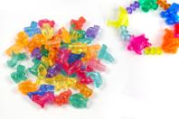 Perles animaux transparents - 30 perles assorties - Perles enfants - 10doigts.fr
