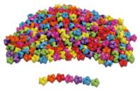Perles Zig Zag - 1000 perles - Perles enfants - 10doigts.fr