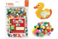 Perles à repasser XXL Perlou  - Set de 500 perles - Perles tons vifs - 10doigts.fr