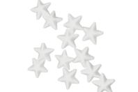 Étoile polystyrène blanc - Lot de 48 - Formes à décorer - 10doigts.fr