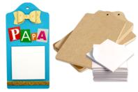 Planchettes Blocs-Notes - Kit de 6 mémos - Mémo et magnet - 10doigts.fr