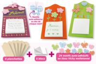 Planchettes Mémo à fabriquer - Kit 6 réalisations - Kits Supports et décorations - 10doigts.fr