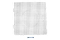 Plaque carrée pour perles fusibles + papier sulfurisé - Perles fusibles 5 mm - 10doigts.fr