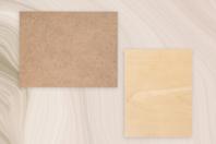 Support plat rectangulaire bois ou MDF - Format au choix - Supports plats - 10doigts.fr