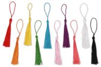 Pompons glands - couleurs assorties - Pompons - 10doigts.fr