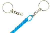 Porte-clés à anneaux avec chaîne - Lot de 25 - Porte-clefs, Anneaux, Mousquetons - 10doigts.fr