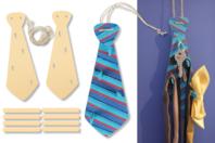 Porte-cravates ou porte-clefs - Lot de 2 - Kits Supports et décorations - 10doigts.fr