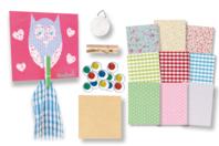 Kit 10 porte-torchons - Kits Supports et décorations - 10doigts.fr