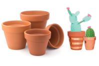 Pots en terre cuite - Supports en Céramique et Porcelaine - 10doigts.fr