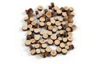 Minis rondelles de bois - Sachet de 230 gr - Bois - 10doigts.fr