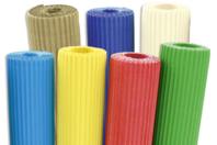 Carton ondulé en rouleau 50 x 70 cm, couleurs vives ou métallisées - Carton ondulé - 10doigts.fr