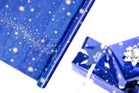 Rouleau papier cadeau Ciel étoilé - Papiers de fêtes - 10doigts.fr