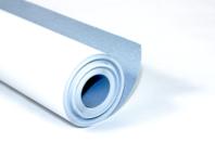 Papier Blanc-Bleu pour peinture - Rouleau de 10 mètres - Papiers et Carnets - 10doigts.fr