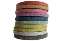 Rubans adhésifs glitter pailleté - Adhésifs simple ou double-face - 10doigts.fr