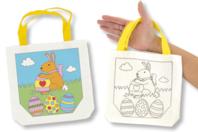 """Sac à colorier """"Pâques"""" - Supports textile - 10doigts.fr"""