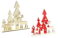 Scène de Noël bois à poser - Noël - 10doigts.fr