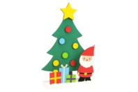 Scenette de Noël en bois à monter - Centre de table - 10doigts.fr