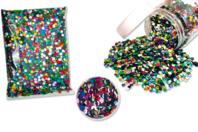 Sequins paillettes rondes - Sachet multicolore - Sequins - 10doigts.fr