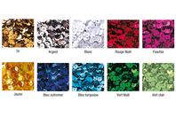 Sequins brillants à la couleurs - Lot de 1200 ou 12000 pcs - Sequins - 10doigts.fr